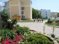 Двор санатория