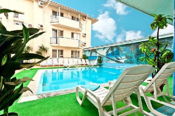 Гостиницы в Анапе с бассейном