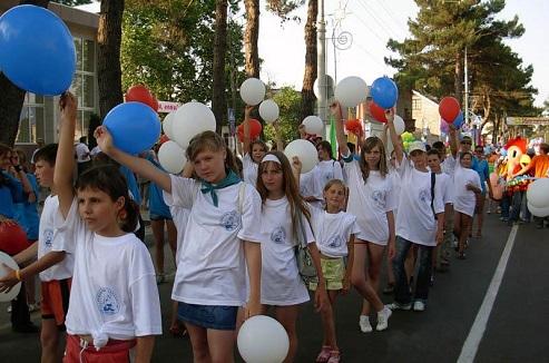 Детские оздоровительные лагеря в Анапе