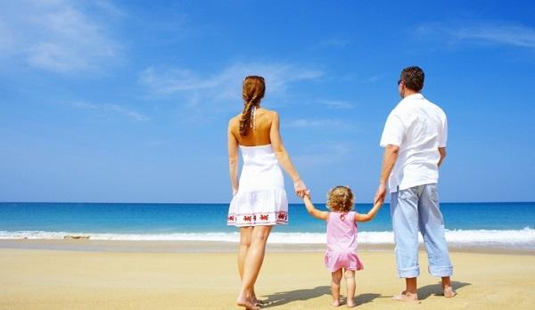 Отели – идеальный вариант для семейной пары с детьми